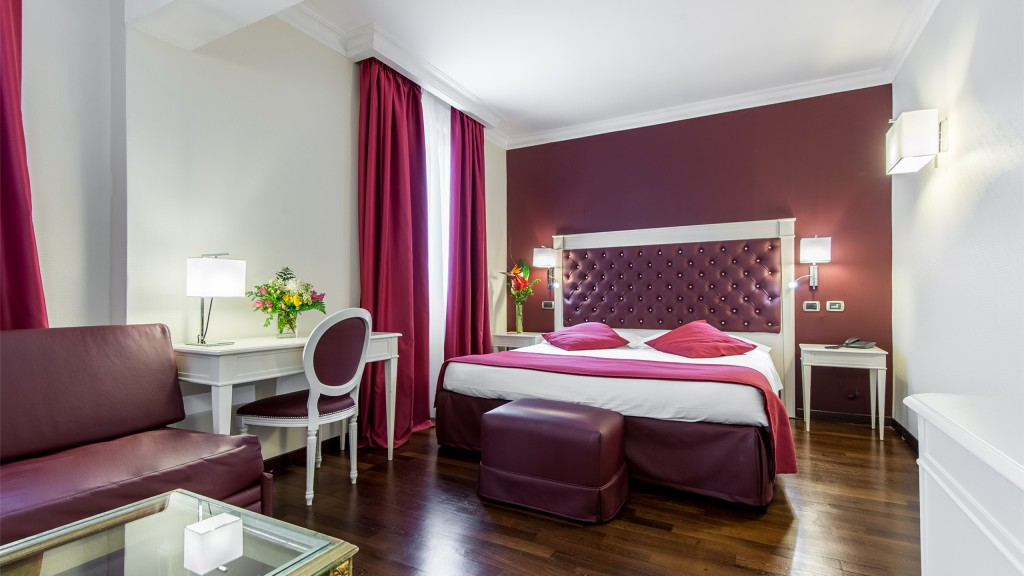 Hotel-Trilussa-Palace-Rom-familienzimmer